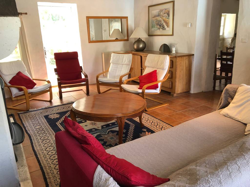 Living cottage gite rental perigord, brantôme